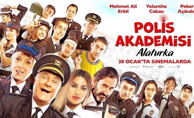 Polis Akademisi Alaturka filminin yapımcısına dava!