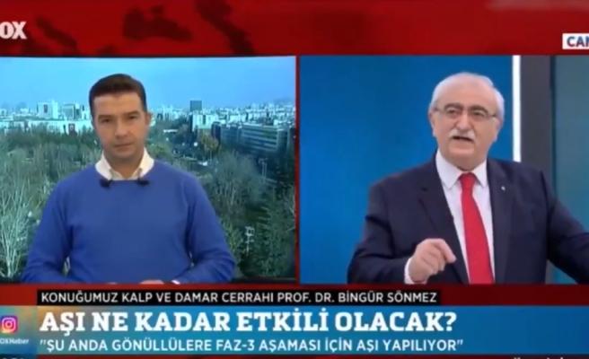Prof. Dr. Bingür Sönmez'den Aşı Yaptırmak İstemeyenlere: 'Aşı Yaptırmam Diyenler Vatan Hainidir, Onlara Kız Bile Vermeyeceğiz'