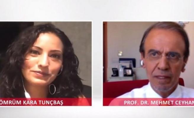 Prof. Dr. Mehmet Ceyhan: Şu an hiçbir ülkede ikinci dalga diye bir şey değil
