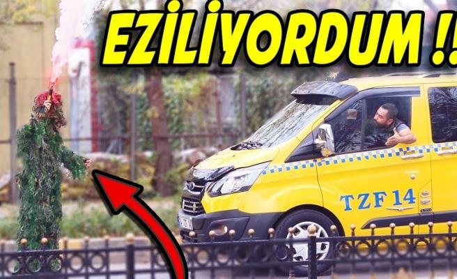 PUBG Oyunundaki Kamuflaj ile İstanbul Sokaklarına Çıkan Ekip Vatandaşı Troll'ledi!