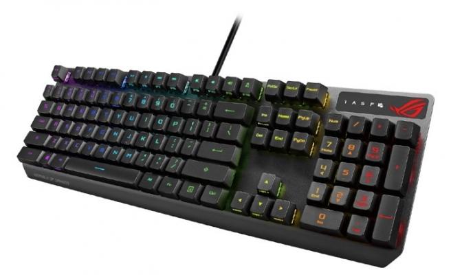 ROG'dan RX Optikli yeni klavye!