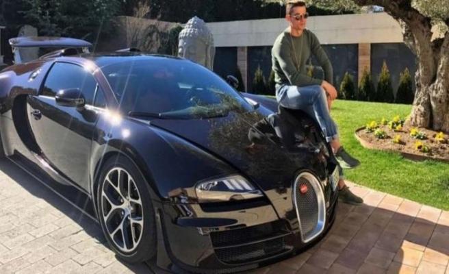 Ronaldo, bu arabaya servet döktü