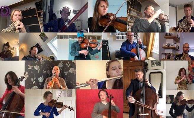 Rotterdam Filarmoni Orkestrası Sanatçıları Koronavirüs İçin 9. Senfoniyi Evlerinden Çaldı