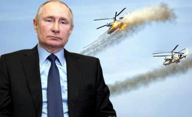 Rusya'dan dünyaya gözdağı Putin, saldırı robotlarını ilk kez sahneye çıkardı