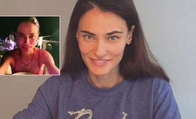 Saadet Işıl Aksoy iki yıl sonra makyaj yaptı