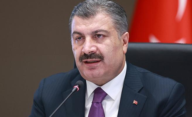 Sağlık Bakanı Koca, risk haritasında mavi renge yükselen Konya ve Kars'ı kutladı