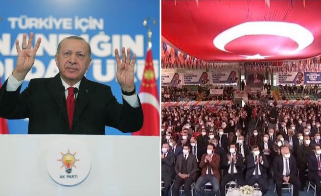 Salgının Unutulduğu AKP Kongrelerinde Konuşan Erdoğan: 'Çarşamba Günü Beni Mutlaka İzleyin'