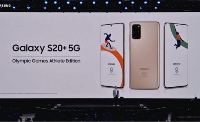 Samsung'dan özel bir Galaxy S20+