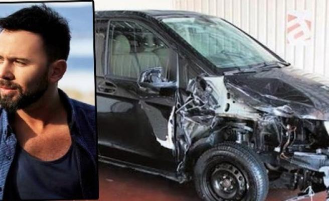 Şarkıcı Berksan Siliviri'de trafik kazası geçirdi!