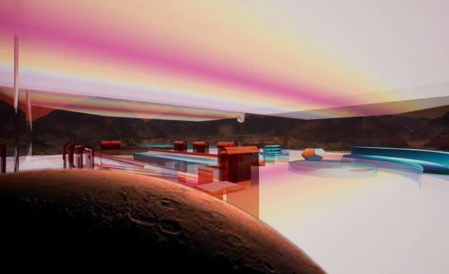 Şeffaf Duvarlı ve Tamamen Dijital: İşte İnternetten Satışa Çıkan 'Mars Evi'nin Fiyatı