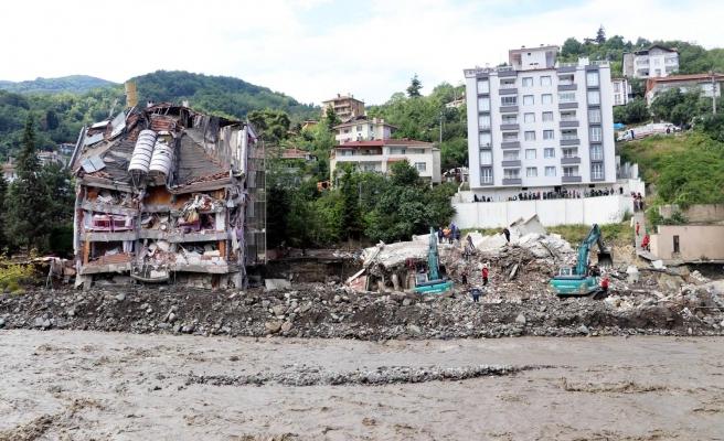 Sel Felaketinde Yıkılan Binanın Müteahhidi Hakkında Gözaltı Kararı
