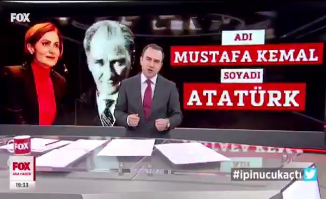 Selçuk Tepeli de Canan Kaftancıoğlu'na Tepki Gösterdi: 'Adı Mustafa Kemal, Soyadı Atatürk, Bu Kadar Basit'