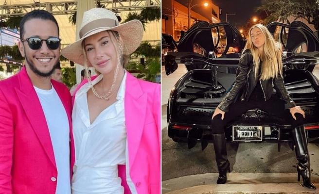 Şeyma Subaşı'nın Mısırlı sevgilisinin Ferrari'si çalıntı çıktı
