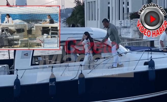 Sibel Can'ın indiği tekneye Buket Aydın bindi!