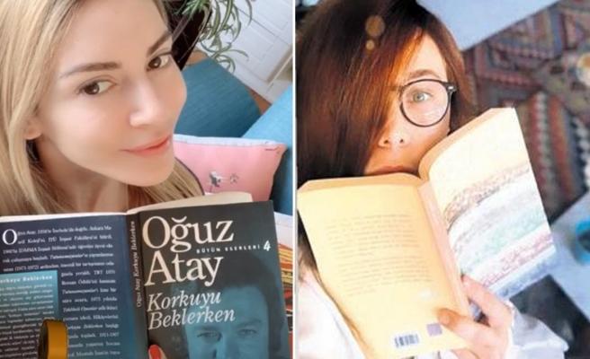 Sinem Kobal ve Burçin Terzioğlu kitap kurdu oldu!