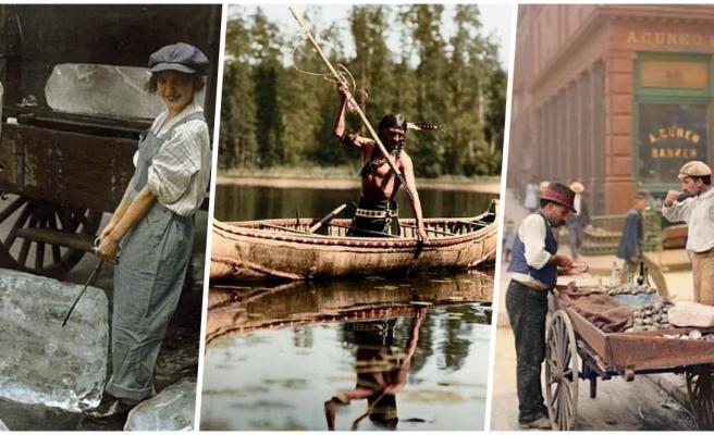 Sıradan İnsanların Gündelik Yaşantılarından Çarpıcı Kesitler Sunan 17 Tarihi Fotoğraf