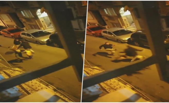 Şişli'de Sahur Vakti Turist Dehşeti! Önce Davulu Bıçakladı Sonra Davulcuyu Kovaladı