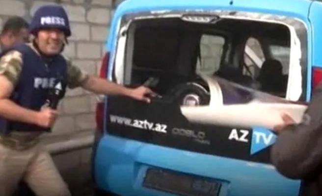 Sivillere füzeyle saldıran Ermenistan, bu kez de Azerbaycanlı gazetecileri hedef aldı