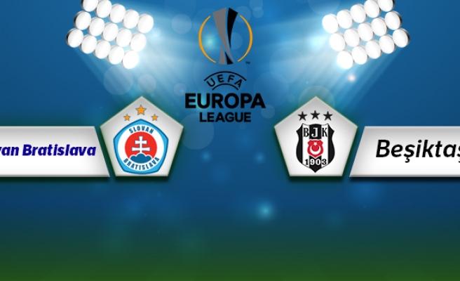 Slovan Bratislava Beşiktaş Maç Anlatımı