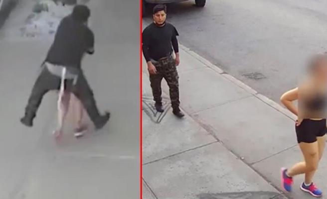 Sokaktaki taciz olayı ABD gündeminden düşmüyor! Emniyet, sapığı yakalamak için kentte insan avı başlattı