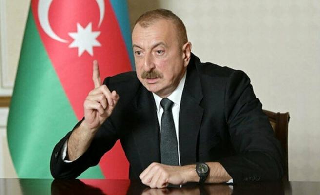 Son Dakika! Azerbaycan Cumhurbaşkanı Aliyev'den bomba iddia: Rusya Ermenistan'ı ücretsiz silahlandırıyor