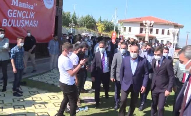 Son dakika... Cumhurbaşkanı Erdoğan, Dışişleri Bakanı Çavuşoğlu'nun katıldığı gençlik buluşmasına telefonla bağlanarak gençlere hitap etti