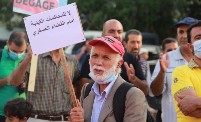Son dakika haberleri... Tunus'ta Cumhurbaşkanı Kays Said'in olağanüstü kararları protesto edildi