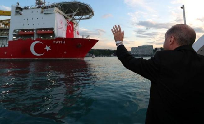 Son dakika: Karadeniz'de bulunan doğal gaz rezervi için ülkeler bazında ilk tebrik Filistin'den geldi
