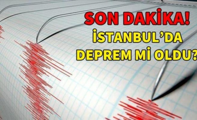 Son Depremler! Bugün İstanbul'da deprem mi oldu? 2 Ekim Pazartesi AFAD ve Kandilli deprem listesi