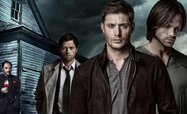 Supernatural dizisinin başrol oyuncusu Jensen Ackles 'Tek tek basaraktan' şarkısıyla dans etti