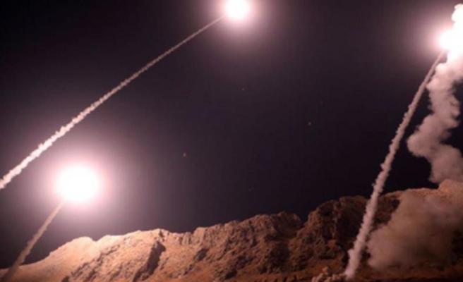 Suriye-Irak sınırında İran destekli teröristlere hava saldırısı düzenlendi