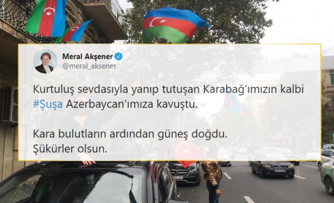 Şuşa Kenti 28 Yıl Sonra Kurtarıldı: Azerbaycan'da Yaşanan Coşkuya Türkiye de Ortak Oldu