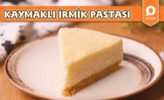 Sütlü Tatlı Sevenlerin Gözdesi Olacak Bir Tarif Geliyor! Kaymaklı İrmik Pastası Nasıl Yapılır?