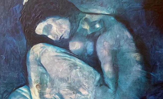 Tablonun içine çıplak kadın figürü saklamış! Picasso'nun 118 yıllık sırrı resmen ifşa oldu