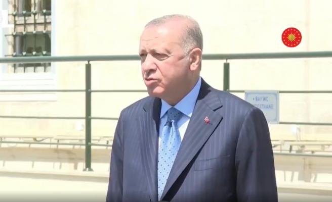 'Tam Kapanmada İstanbul'da mısınız?' Sorusuna 'En Kötü İhtimalle Türkiye'deyim' Diyen Cumhurbaşkanı