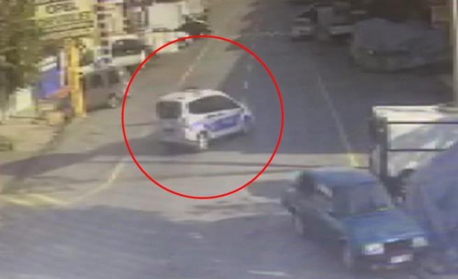Tamir İçin Bırakılan Polis Arabasıyla Hırsızlık Yapan Çıraklar