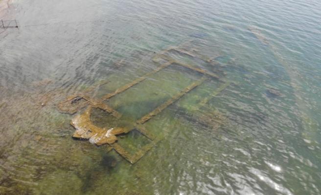 Tarihî bazilika yeniden sulara gömüldü