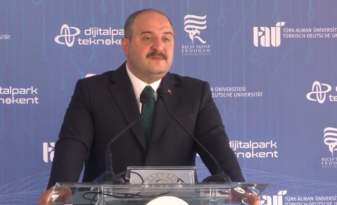 Teknoloji Bakanı Varank: 'Her şehrimize bir teknopark kurmaya çalışıyoruz'