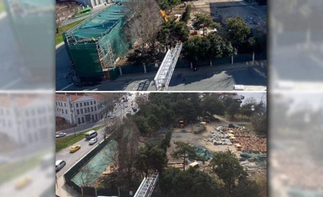 Tevfik Göksu 'Yıkım Değil, Yeniden Yapım' Demişti: Divanhane Eski Karakolu Yıkıldı