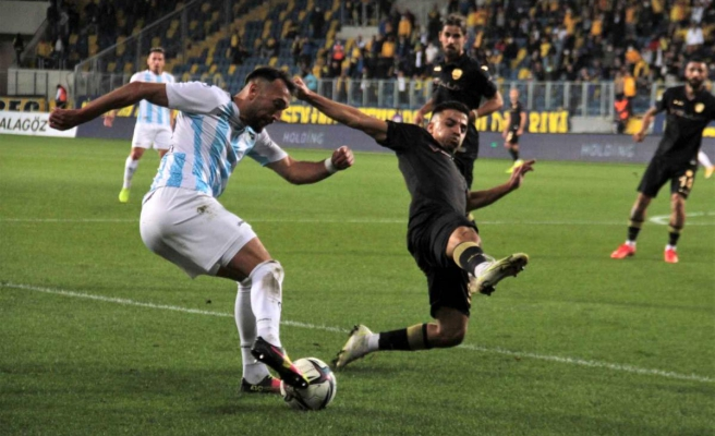 TFF 1. Lig: MKE Ankaragücü: 2 B.B. Erzurumspor: 1