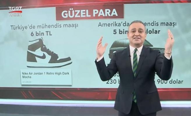 TGRT Haber, Türkiye'de ve Amerika'da Bir Mühendis Maaşının Satın Alma Gücünü Kıyasladı