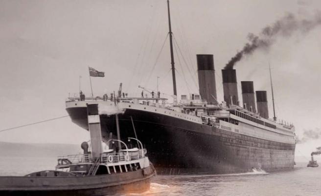 Titanic'in 109 yıllık görüntüleri
