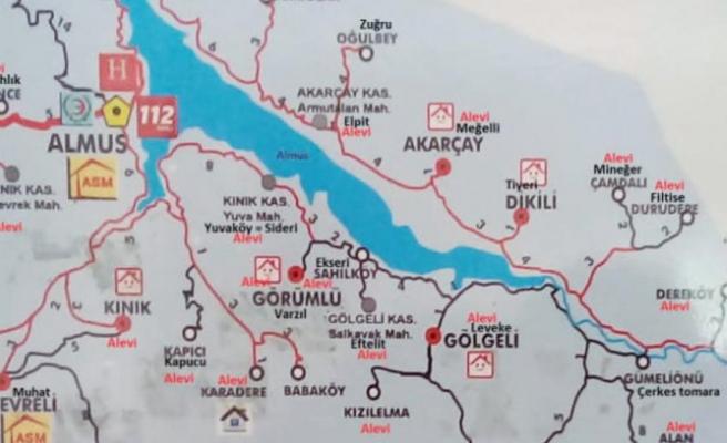 Tokat'ta Alevi Köylerinin İşaretlendiği Harita: Tepkilerin Odağındaki Doktor Ne Dedi?