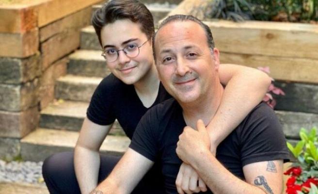 Tolga Çevik'in oğlu Tan 17 yaşında