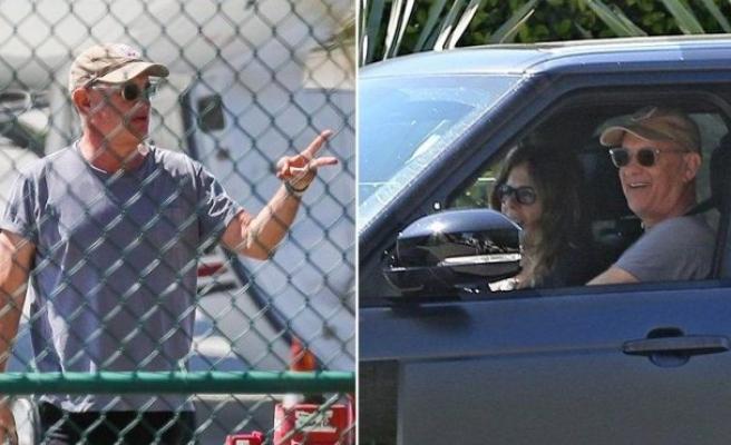 Tom Hanks ve Rita Wilson evlerine döndü