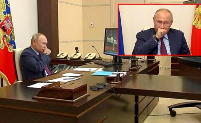 Toplantıda öksürük krizine giren Putin'in korona olduğu iddia edildi! Kremlin, söylentileri yalanladı