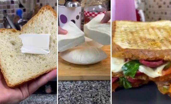 Tost İçin Kendi Ekmeğini ve Peynirini Yapan Adama Gelen Haklı Tepkiler