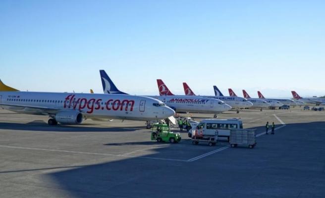 Trabzon Havalimanı yolcu taşımacılığında son yılların en hareketli günlerini yaşıyor