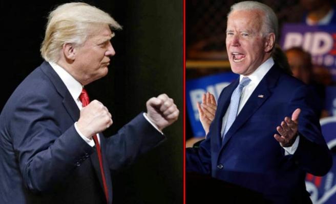 Trump'tan ABD Başkanı Joe Biden'a boks göndermesi: Birkaç saniyede yere sererim
