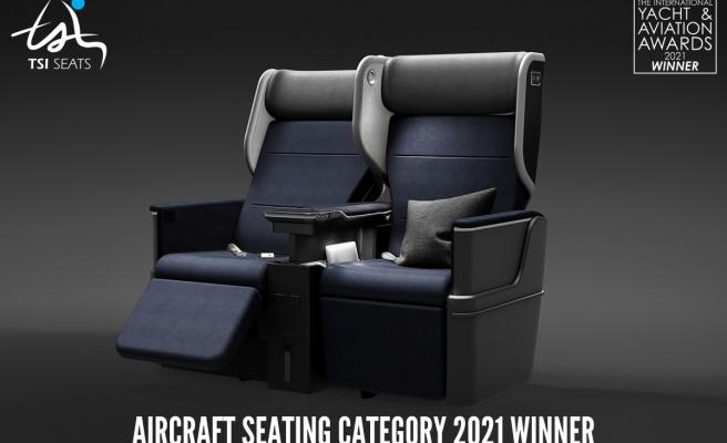 TSI Seats'in ROYALUX koltuğu en iyi tasarım ödülünü aldı